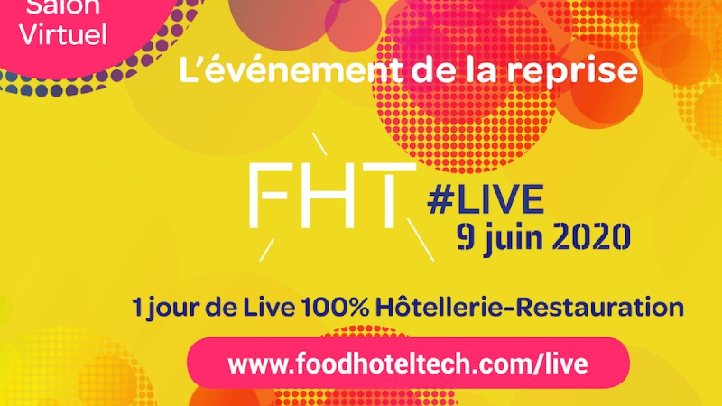 illustration Food Hotel Tech en version digitale mardi 9 juin