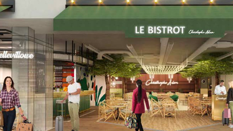 illustration Lagardère Travel Retail va repenser la restauration de Paris-Orly